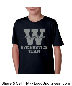 Youth Waynesboro Team T-shirt Design Zoom