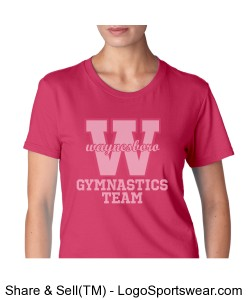 Adult Waynesboro Team T-shirt Design Zoom